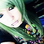 green-emo-hair