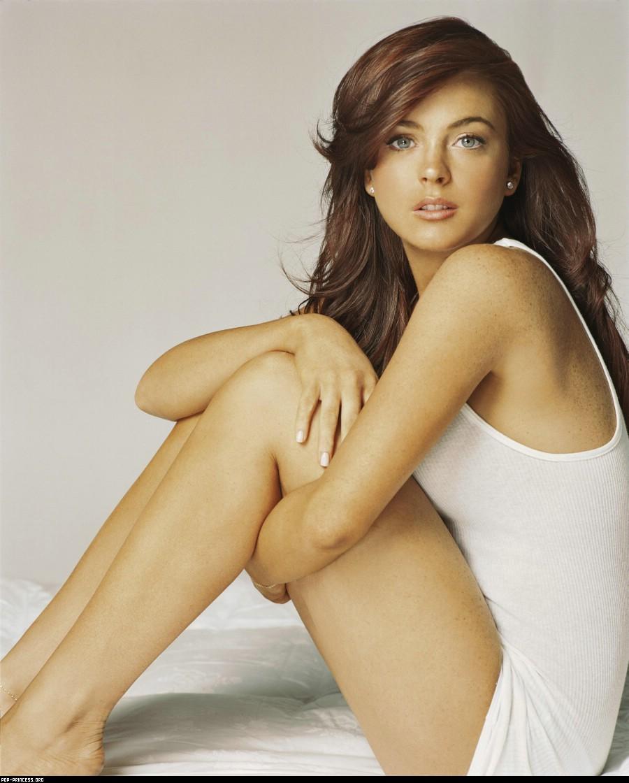 Lindsay Lohan Brunette Hair 42