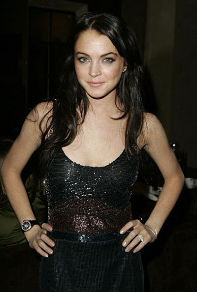 Lindsay Lohan Dark Long Hair My New Hair