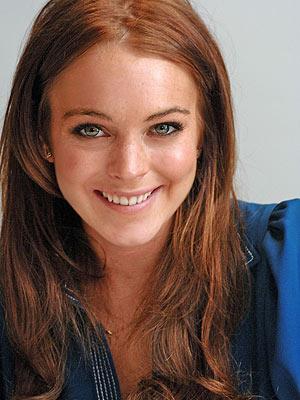 Lindsay Lohan Freckles My New Hair