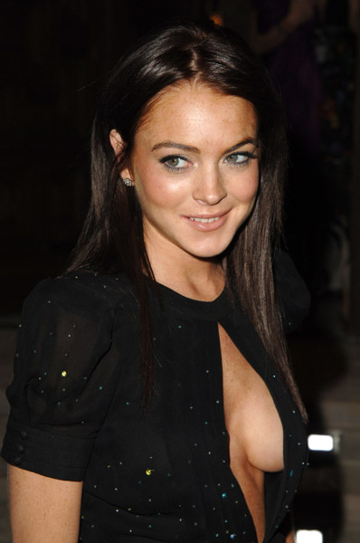Lindsay Lohan Straight Black Hairstyle My New Hair