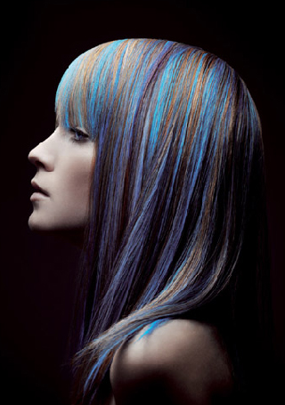 Silver Blue Purple Hair – Free Hair Style Gallery – Hair Photos