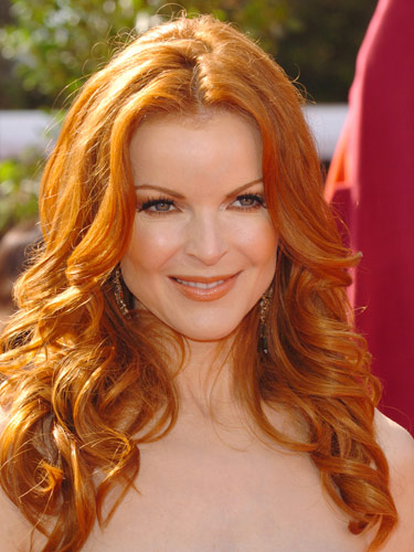Marcia cross copper red my new hair