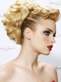 weave mohawk hairstyles : Posted under: Blonde Hair , Updo Hairstyle