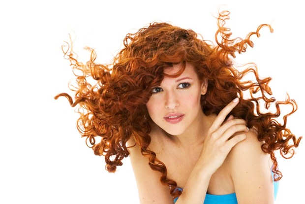 current hairstyle trends : Long Curly Ginger Hair Red hair curly