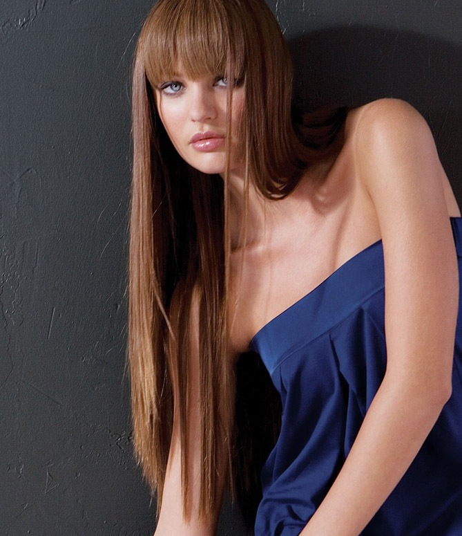 Candice Swanepoel Bangs My New Hair