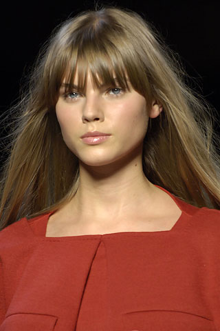 Maryna Linchuk Bangs My New Hair