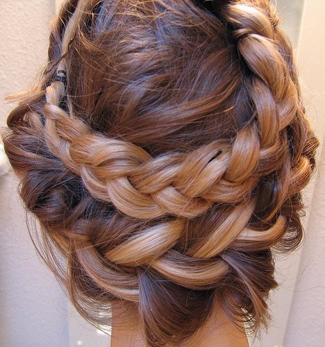 braided prom hairstyle
