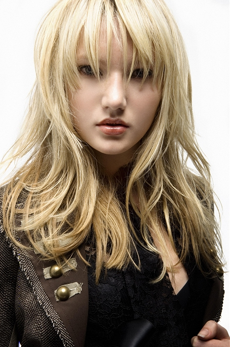 Sean Hanna Blonde Layered Hairstyle Bangs My New Hair