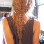 bloned-fishtail-briad
