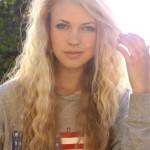 wavy-blonde hair
