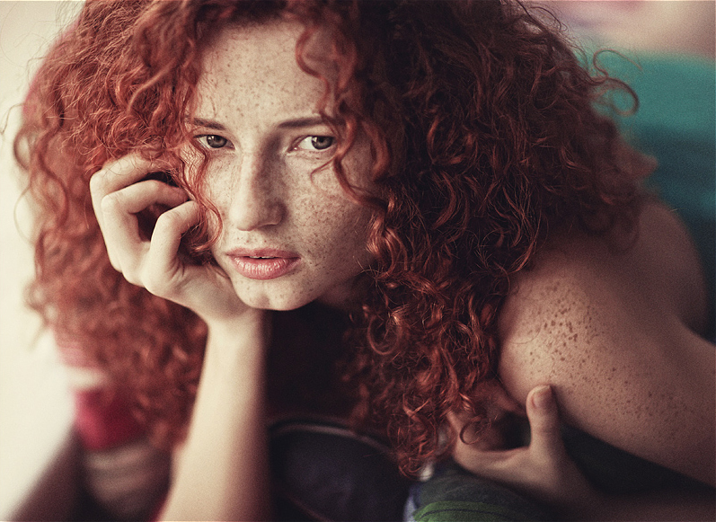 curly-red-hair - My New Hair