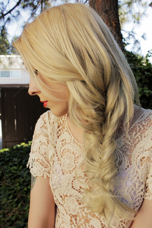 braided blonde hair my new hair