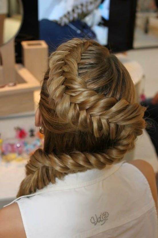 Unique braids my new hair zig zag french braided fishtail braid ccuart Images