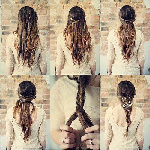 braided hair tutorail