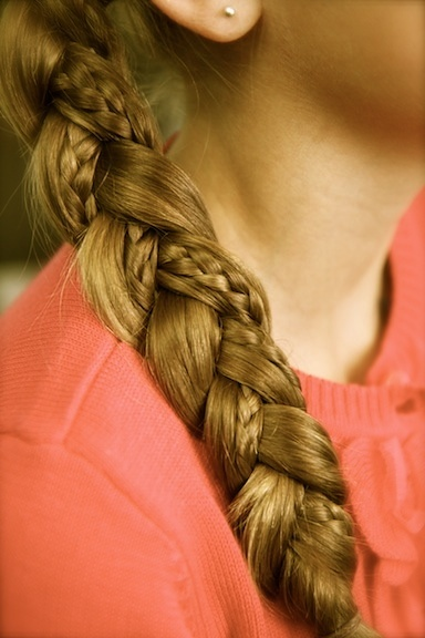 braid in a braid hair