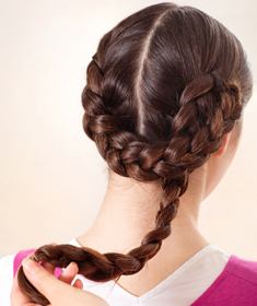 Heidi braid tutorial