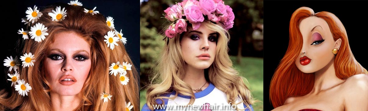 lana del rey's hairstyle