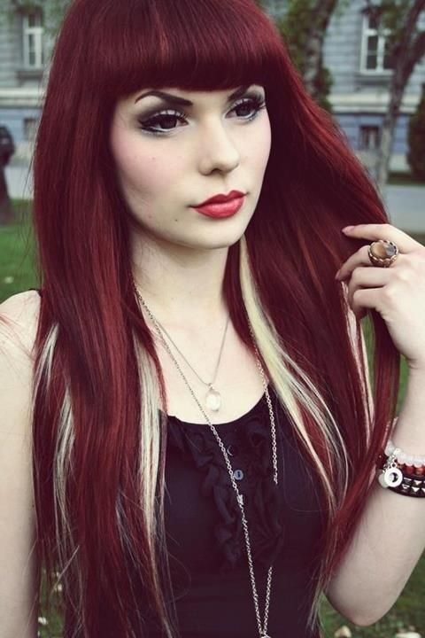 Red Hair With Blonde 32