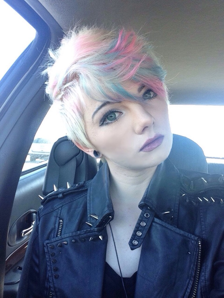 alternative posts - my new hair
