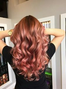 Rose Gold Hair 2017